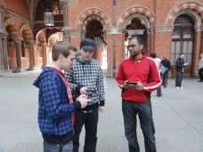 London St Pancras 3DS StreetPass Event with Yoshinori Ono (4)
