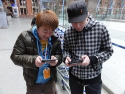 Stuart from Nintendo Scene in a Street Fight with Yoshinori Ono - I actually WIN (2)