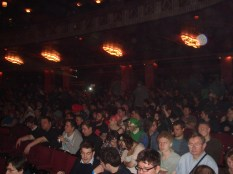 The crowd in the stalls and our ticket competition winners