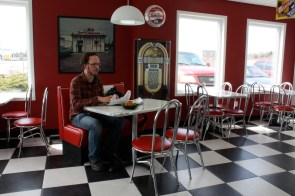 Dan's Ice Cream Shoppe in Barrington Passage serves up classic treats and eats with a 50s flair.