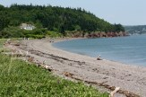 A view of Partridge Island Beach.