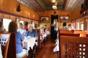 For an unusual dining option, check out The Train Station Inn in Tatamagouche, where you can enjoy a meal in a train's dining car.