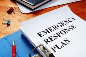 emergency response plan document