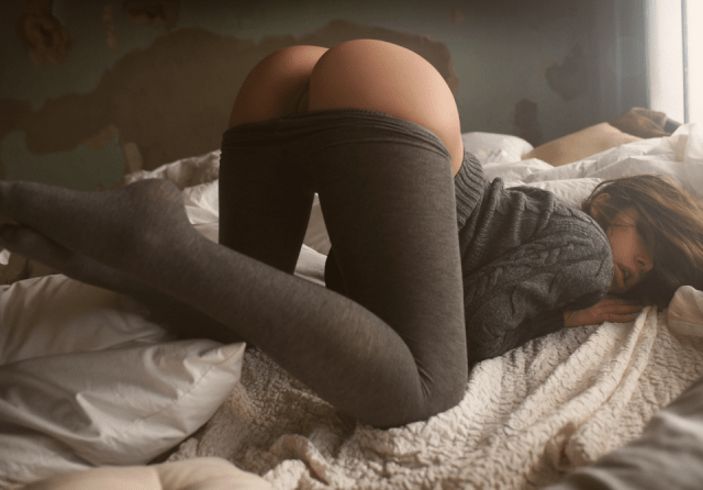 grey stockings revealing a nice pussy.png