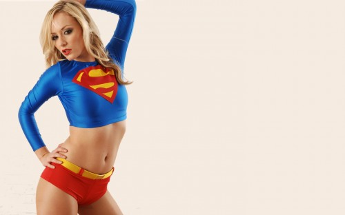 supergirl is damn sexy