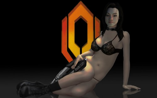 mass effect 2 - miranda in bikini