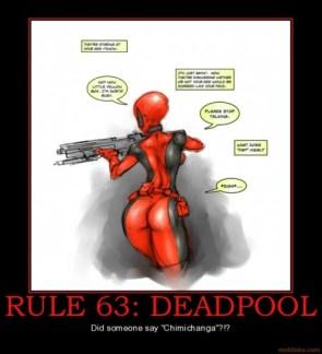 rule 63 – deadpool