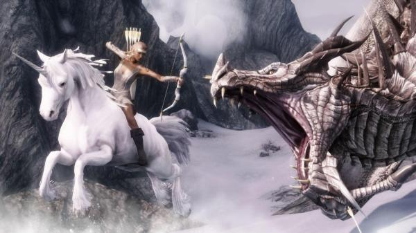 Dragon Hunting - Skyrim