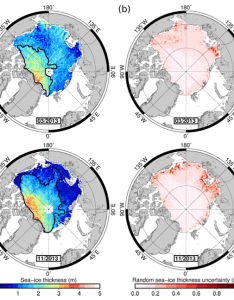Sea ice thickness and uncertainty maps also sotc national snow data center rh nsidc