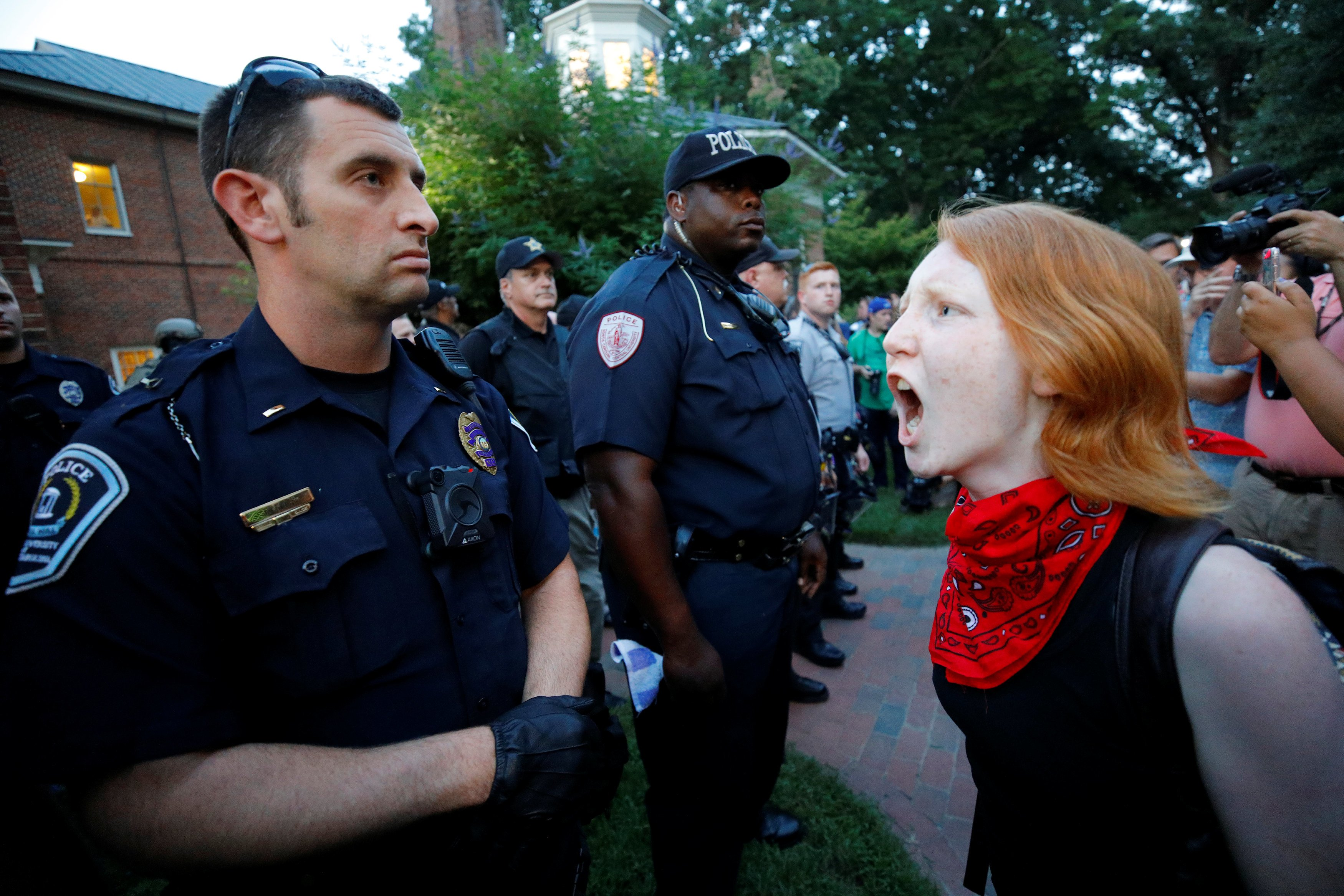 One taken into custody at 'Silent Sam' statue rally at UNC