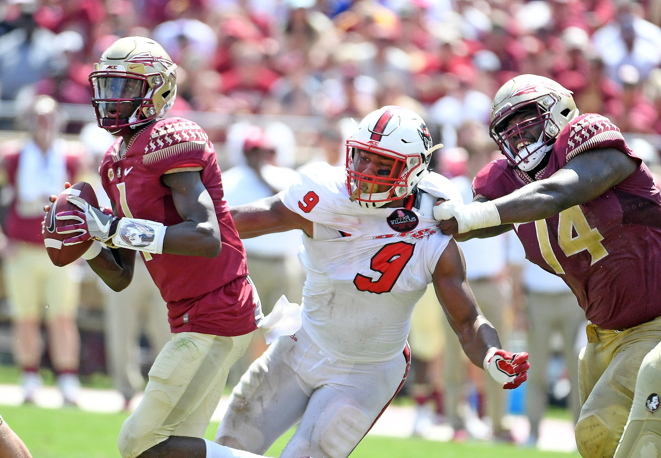 Florida State edges Wake Forest 26-19, avoids rare 0-3 start