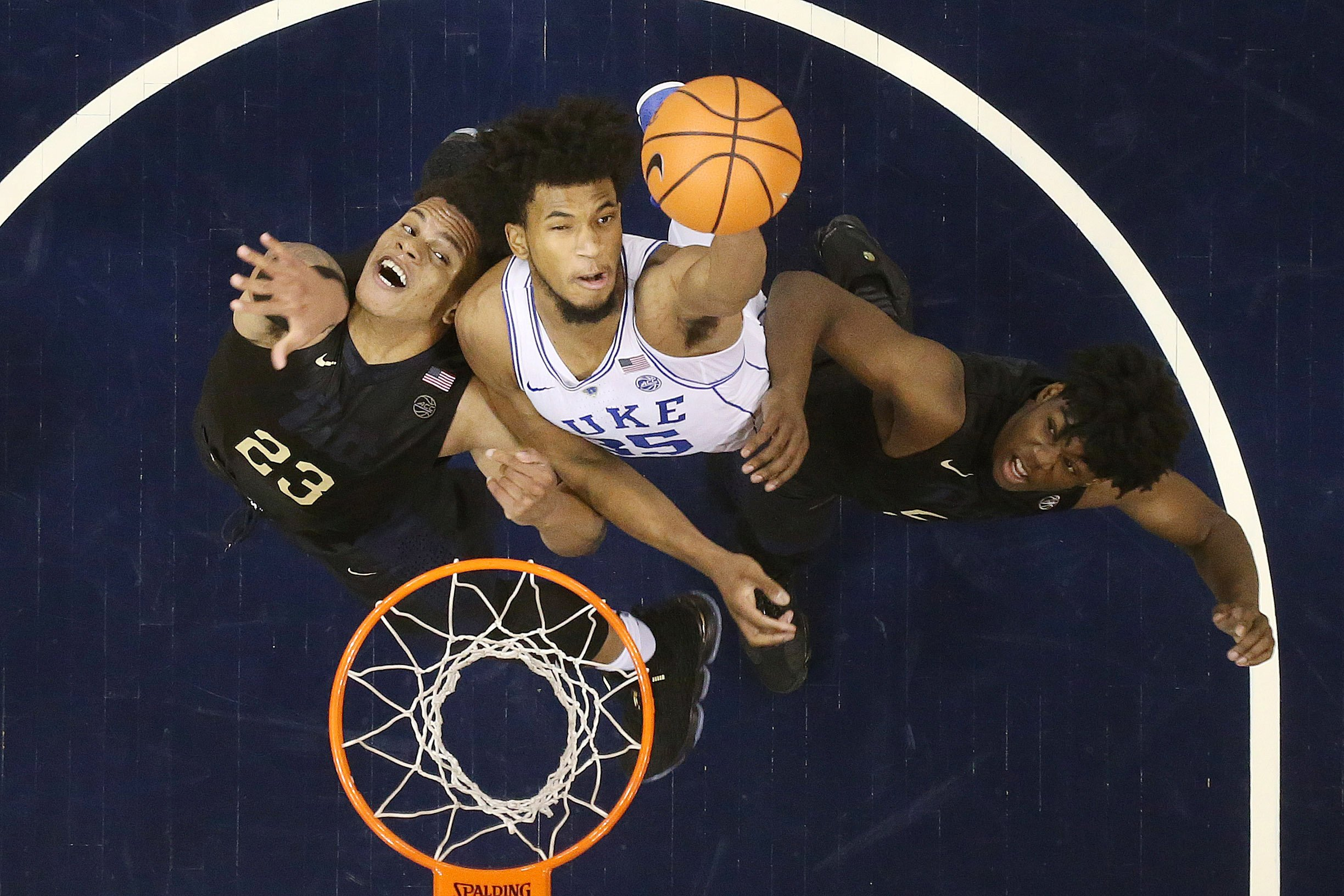 Marvin Bagley III Double-Double Helps No. 7 Duke Routs Pittsburgh