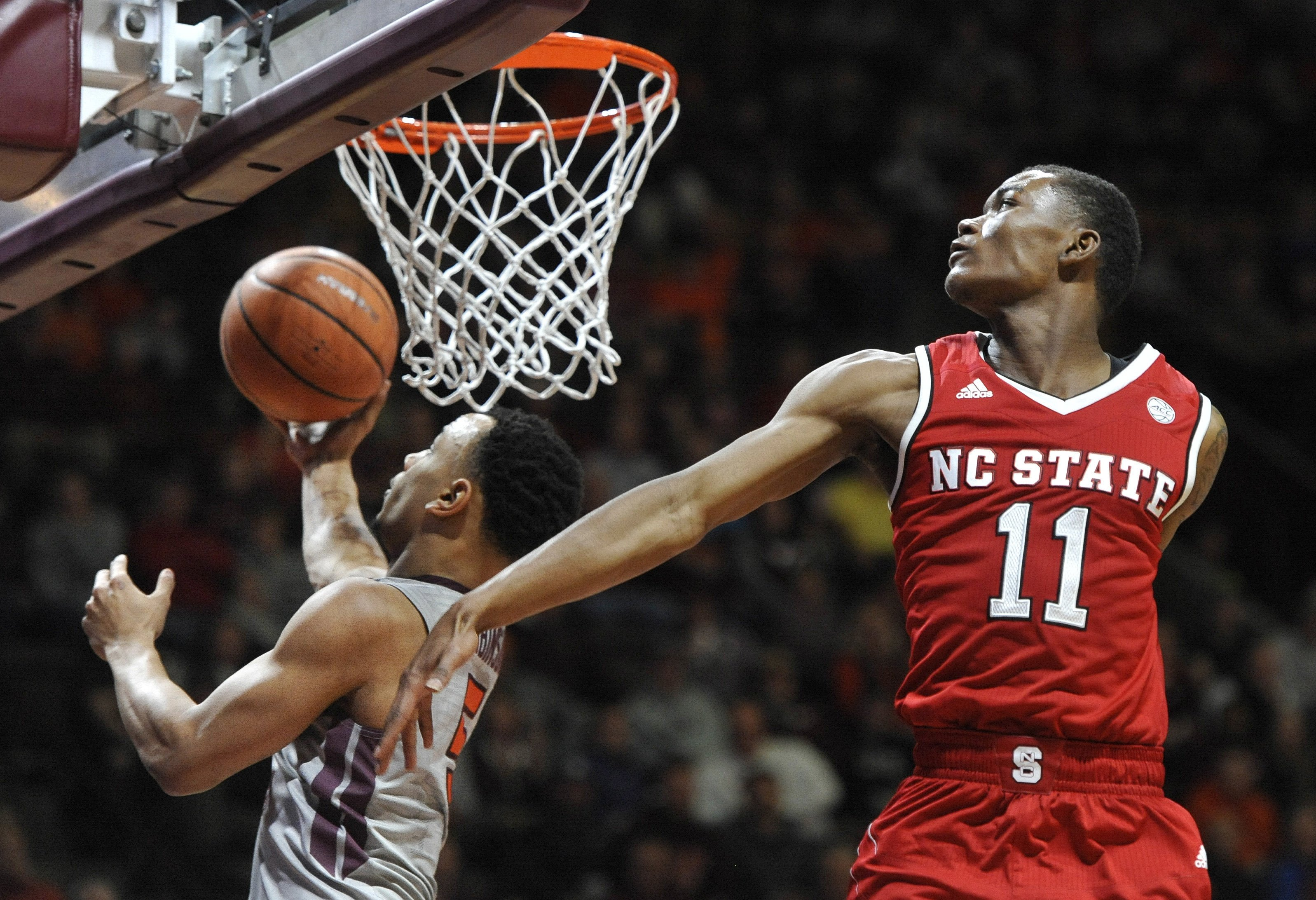 Robinson, Hokies too much for NC State