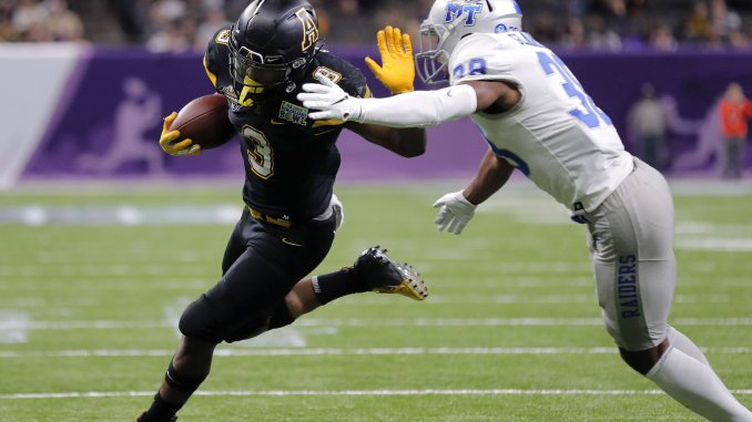 854528fd App State rolls past MTSU in New Orleans Bowl – The North State Journal