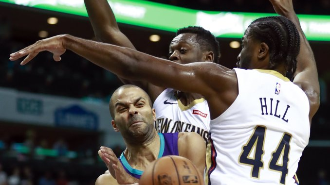 2ca91047590 Anthony Davis continues to haunt Hornets – The North State Journal