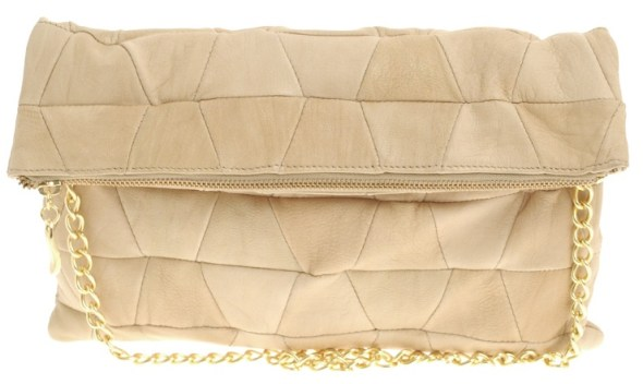 pouch clutch asos leather bag