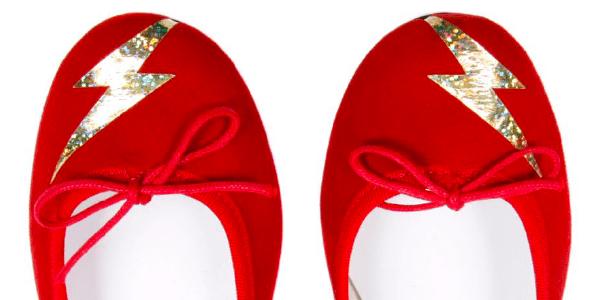 Zara flash rouge repetto