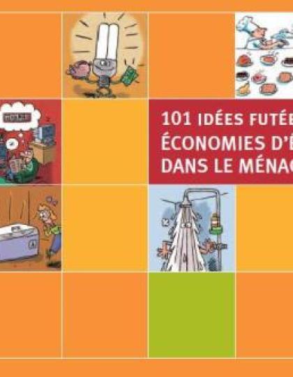 101 idées pour faire des économies d'énergie dans le ménage
