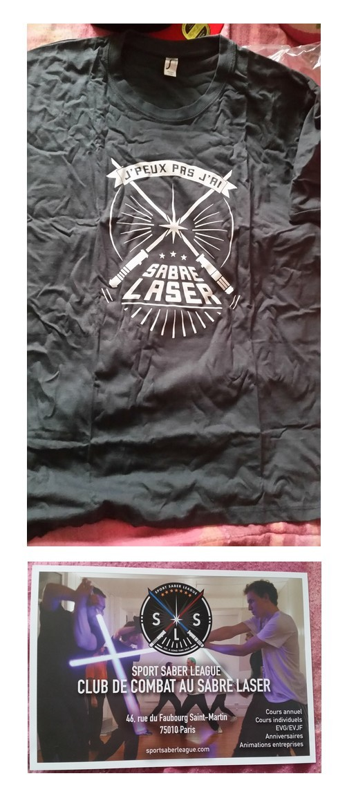 tshirt saber league paris