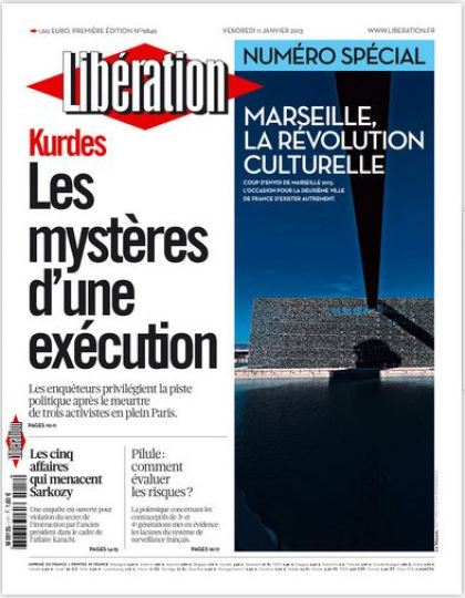 Libération Vendredi 11 Janvier 2013