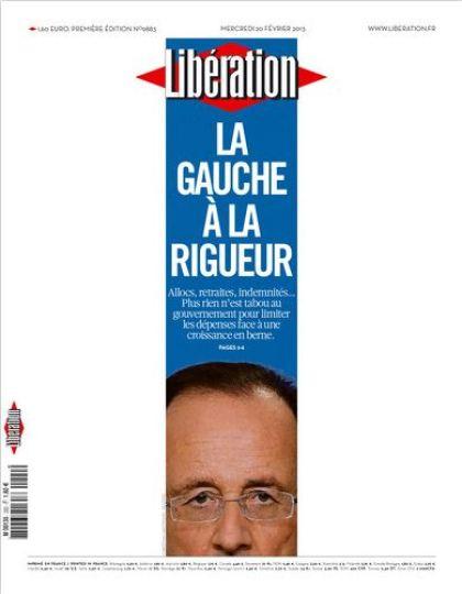 Libération Mercredi 20 février 2013