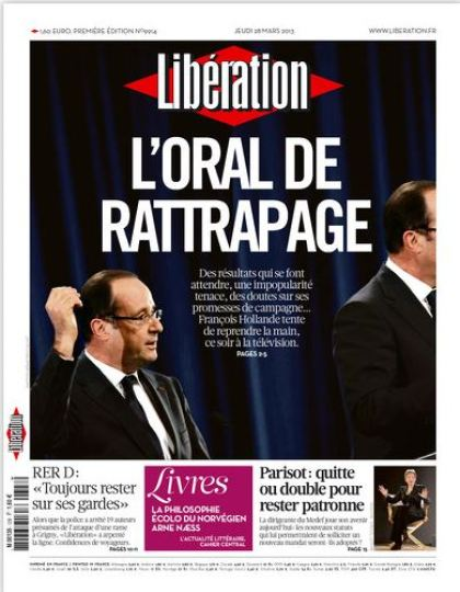 Libération Jeudi 28 mars 2013