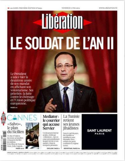 Libération Vendredi 17 mai 2013