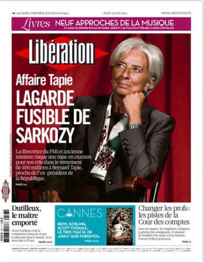 Libération Jeudi 23 mai 2013