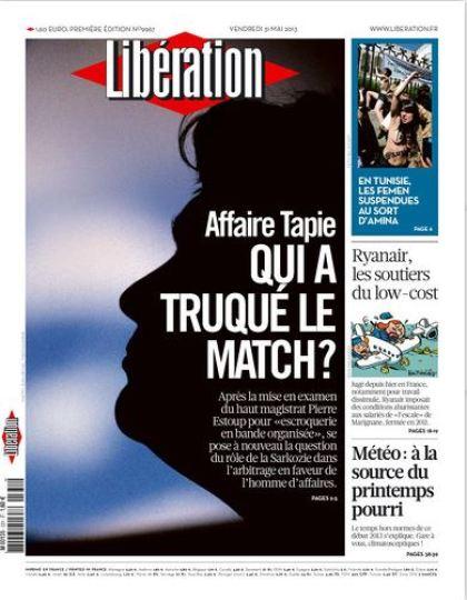 Libération Vendredi 31 Mai 2013