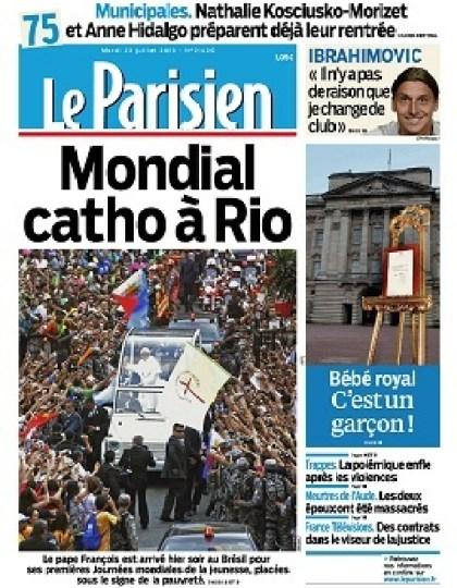 Le Parisien Mardi 23 Juillet 2013