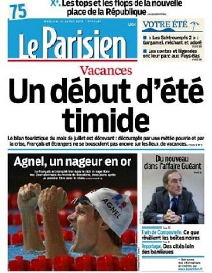 Le Parisien Mercredi 31 Juillet 2013