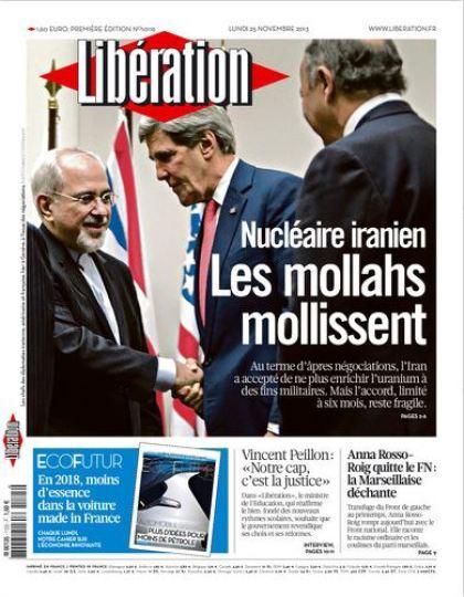 Libération Lundi 25 Novembre 2013