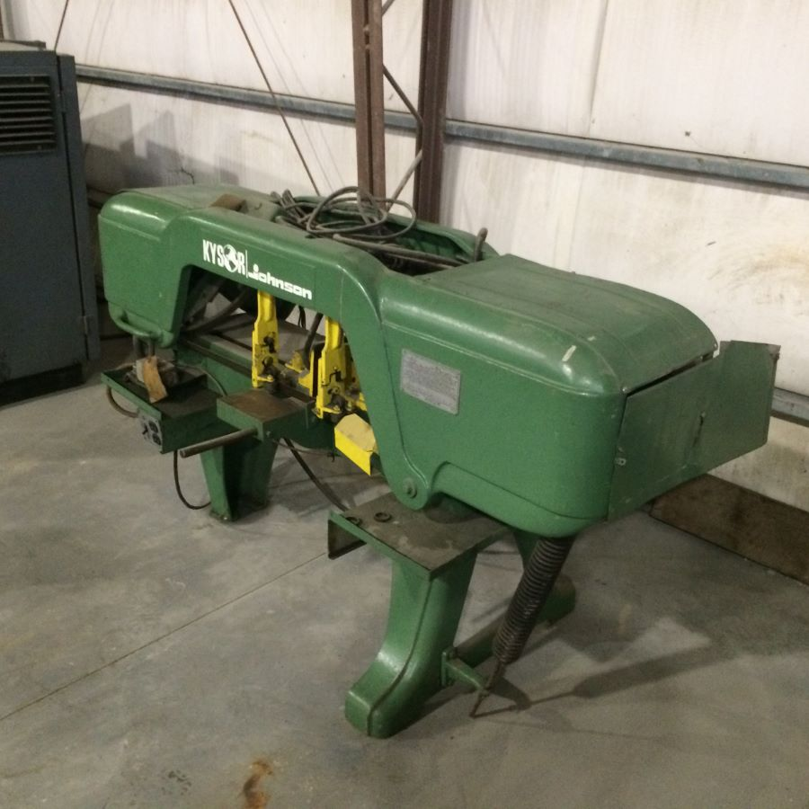 Kysor Johnson Bandsaw Model J Parts