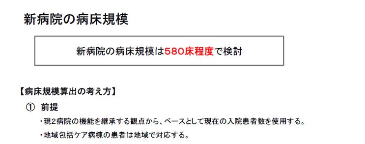 兵庫県立西宮病院と西宮市立中央病院、35科、580床に