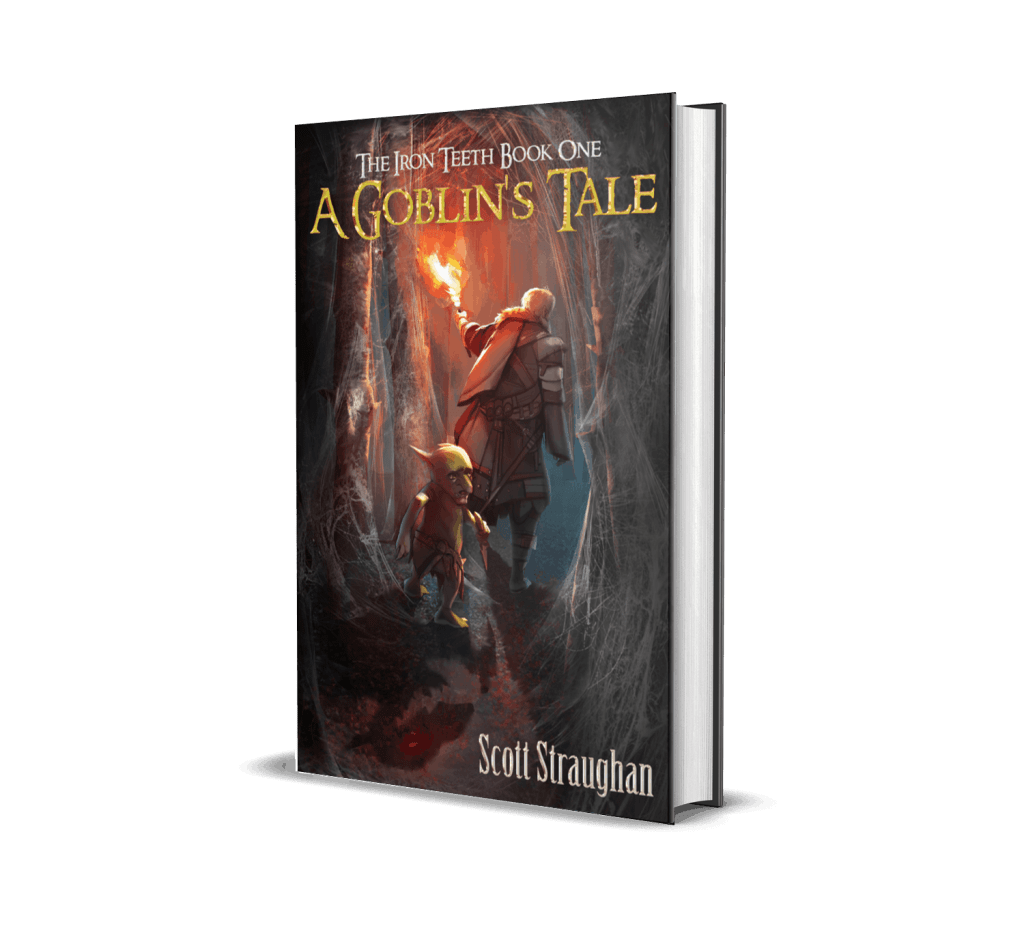 Book cover of A Goblin's Tale by Scott Straughan