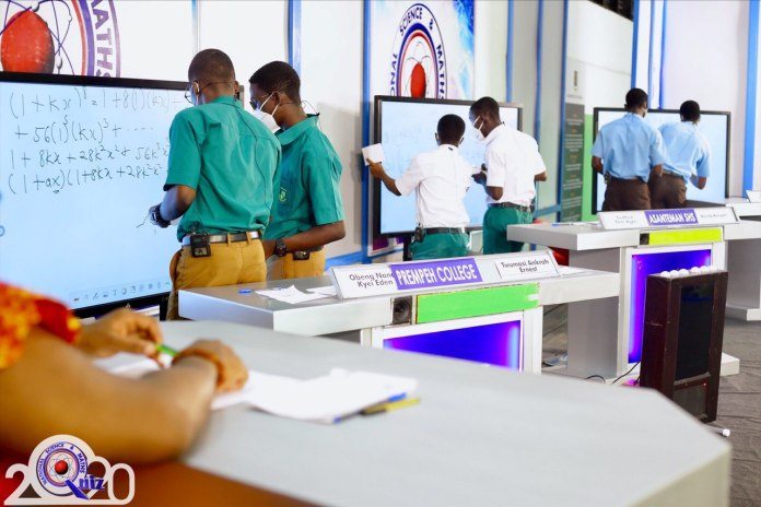 2020NSMQ: Prempeh College enters Quarterfinal after exiting St. Thomas Aquinas SHS and Asanteman SHS 2