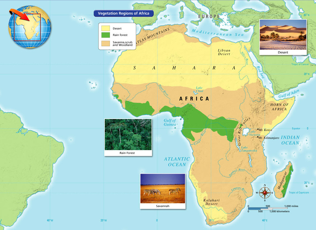hight resolution of Ancient Africa - 6th Grade Social Studies
