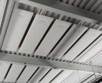 Snowsound Acoustic Panels & Fibers Ceiling Application