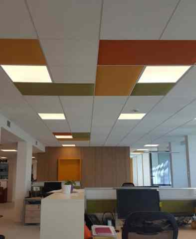 Snowsound Acoustic Panels & Fibers Ceiling Tiles