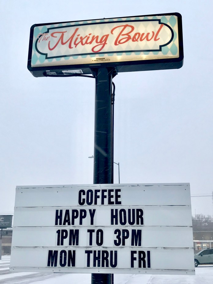 Paying It Forward At The Mixing Bowl Cafe In Gering