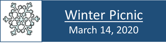 winter picnic banner