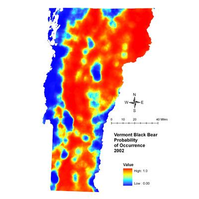 Predicting Impacts of Housing Density Changes on Black Bear Occurrence  Northeastern States