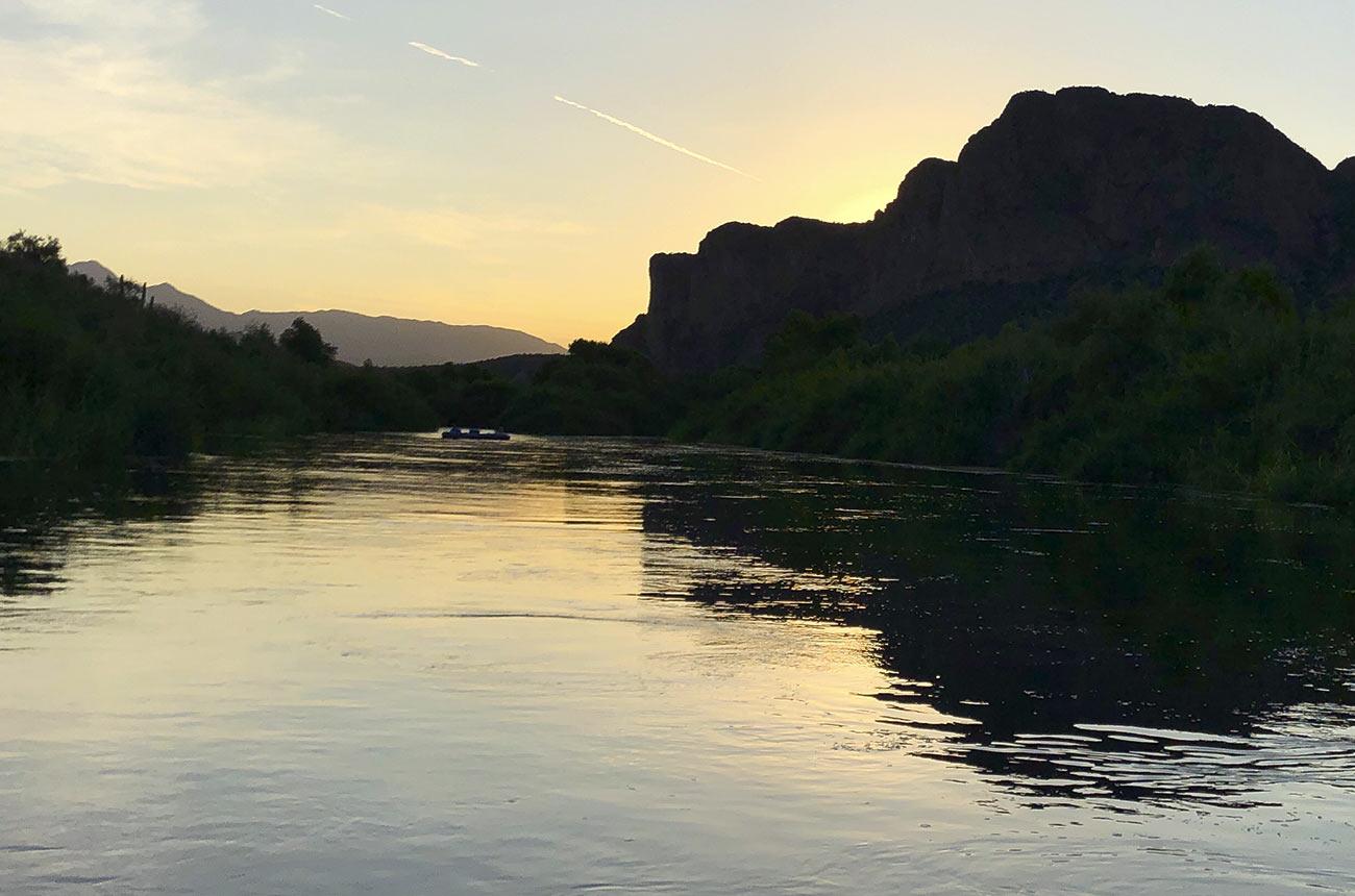 dawn float lower salt river