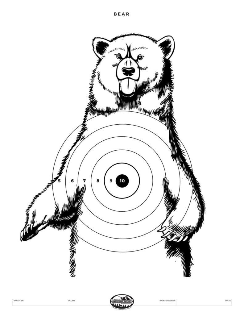 Printable Shooting Targets and Gun Targets • National