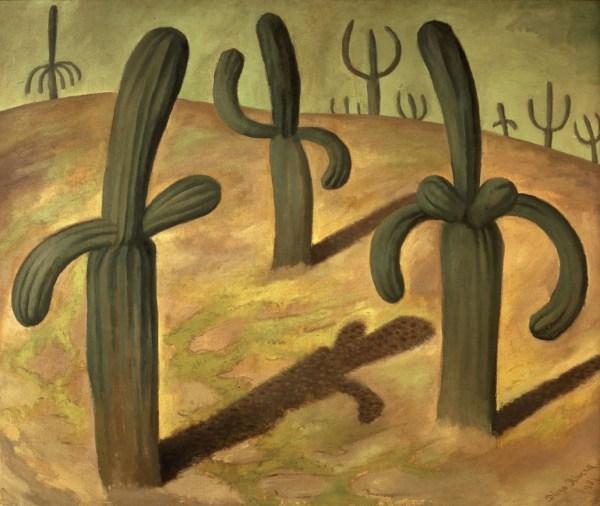 Diego Rivera Cactus