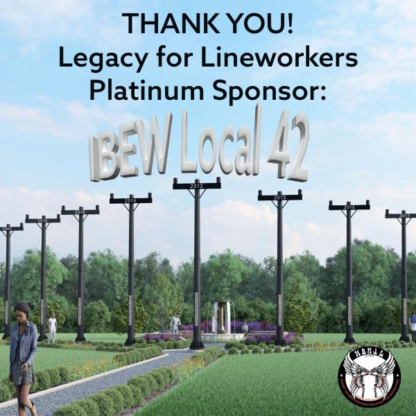 IBEW 42 Legacy Sponsor