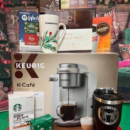 Day 5 12 Days 2020 Coffee Tea Cocoa Basket