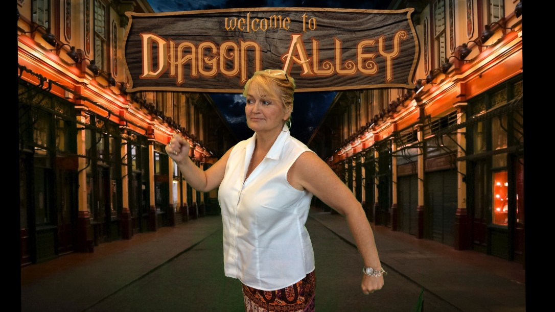 Diagon Alley - Claudia
