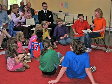 Youth-led service at the Northshore UU Church (file photo)