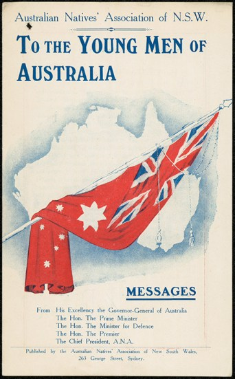 To the young men of Australia leaflet. NRS12060[9-4705]15-7546_001
